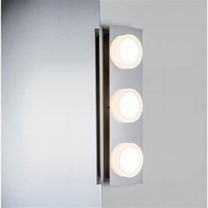 Applique Salle De Bain Led : applique doradus led salle de bain paulmann ip23 3x5w 230v ~ Edinachiropracticcenter.com Idées de Décoration