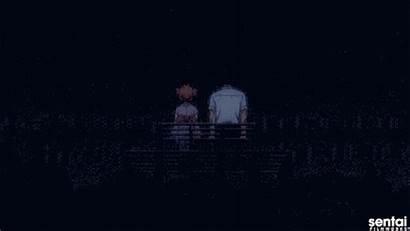 Anime Fireworks Scenes Nozaki Romance Eve Celebrate