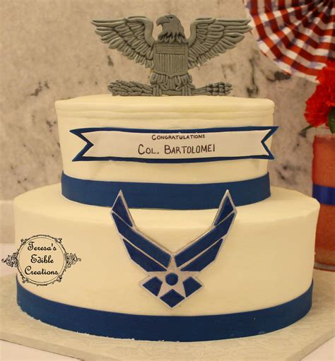 air force colonel military promotion cake  cake