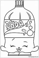 Soda Coloring Shopkins Pages Bottle Drawing Printable Colouring Coloringpagesonly Shopkin Summer Baking Dolls Toys Pop Draw Sheets Getdrawings Drawings Coloringpages101 sketch template