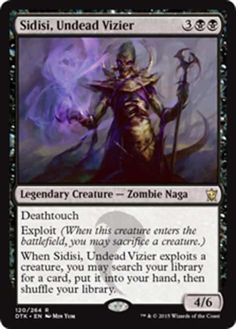 sidisi undead vizier dragons of tarkir gatherer