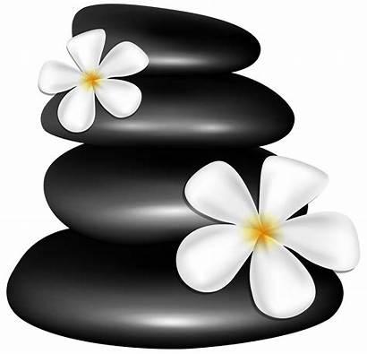 Spa Clipart Stones Flowers Transparent Elements Clipground