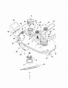 Husqvarna Riding Mower Deck Diagram  Husqvarna  Free Engine Image For User Manual Download