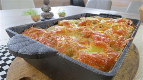 légume grillé au four gratin de l 233 gumes bio dans plat en four en fonte skeppshult