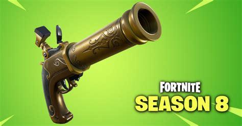 fortnite  update flint knock pistol  baller