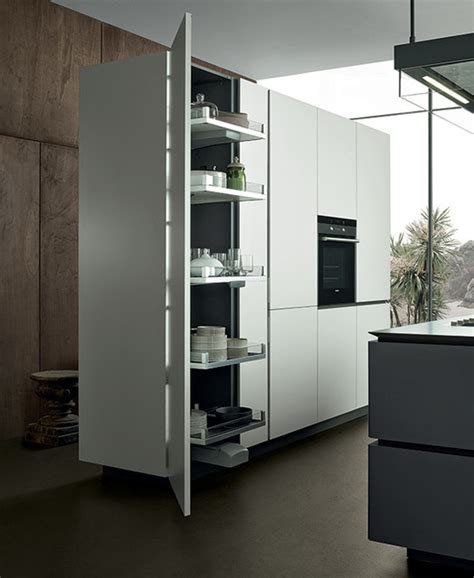 Cabidor Classic Storage Cabinet White by Artex Tall Unit Modern Kitchen Cabinetry Other By