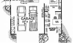 Simple House Plans With Workshop Placement