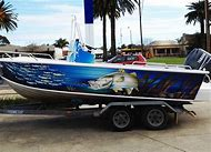 Fishing Boat Graphics Wraps