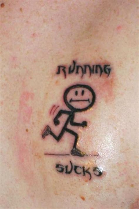 awesome running inspired tattoos tattoo ideas