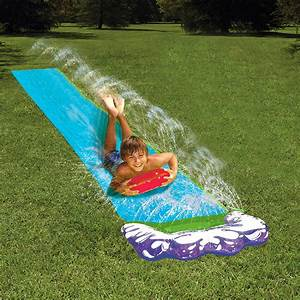 Jeux D Eau Jardin : toboggan aquatique tapis de glisse avec jets d 39 eau ~ Melissatoandfro.com Idées de Décoration