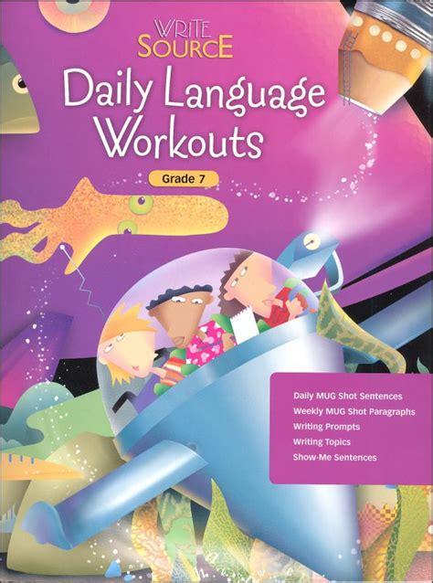 Write Source (2005 Ed) Daily Language Grade 7 (030986) Details  Rainbow Resource Center, Inc