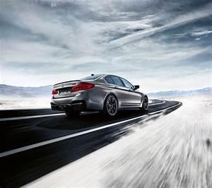 Bmw Reveals M5 Competition Sedan