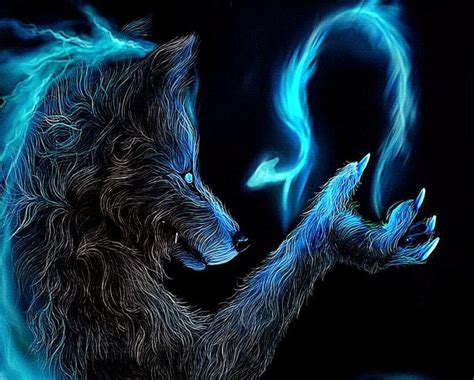 Cool Animal Wallpaper Light Wolf - cool animal wallpaper light wolf