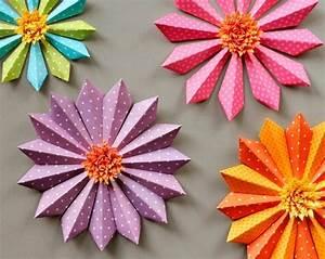 Blumen Aus Papier : 150 verbl ffende bastelideen aus papier ~ Udekor.club Haus und Dekorationen