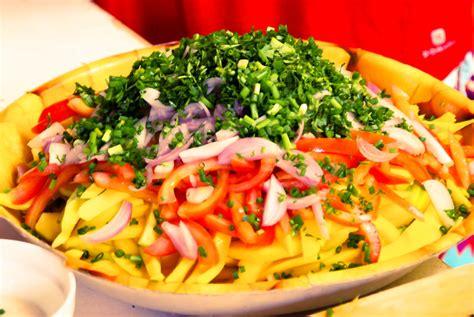 recette de cuisine malagasy recette malgache salade de mangue