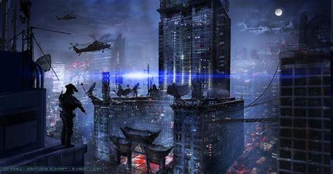 francis goeltner fantasy art futuristic dark military