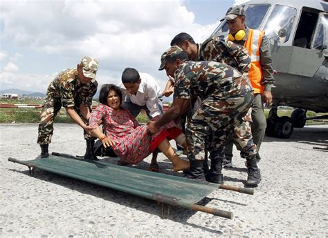 India Resumes Aid To Nepal by A Friend In Need China India Turn On Aid Diplomacy In Nepal World Thanh Nien Daily