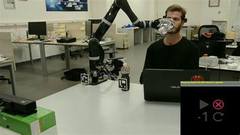 assistive robot operated   brain computer interface