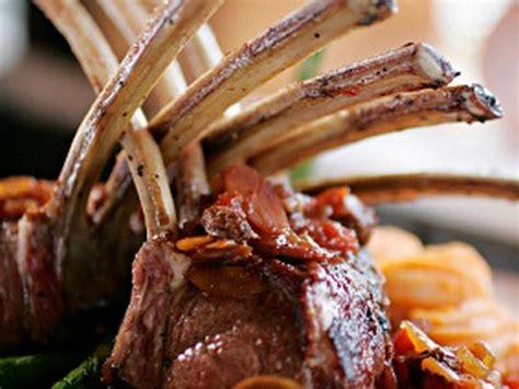 site recette cuisine le carré d 39 agneau à la poêle une recette facile
