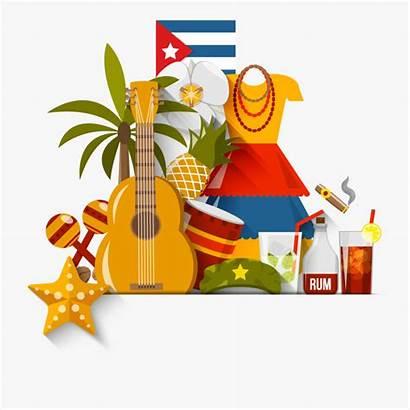 Cuba Clipart Clip Symbols Transparent Cliparts Cartoon