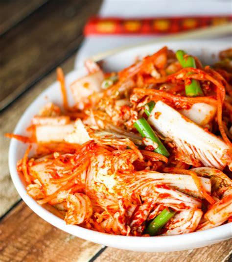 photo kimchi symbole de la cuisine cor 233 enne 224 base de chou ferment 233 qui accompagne tous les