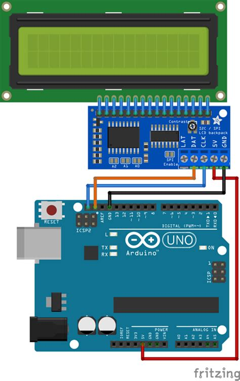 Diy Guide Setting Lcd With Arduino Device Plus