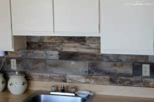 buy kitchen backsplash cheap diy rustic kitchen backsplash shelterness