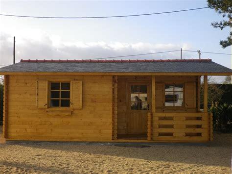 bureau bois pas cher chalet habitable de loisirs 40m2 en bois en kit