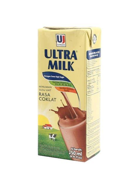 ultra milk slim plain 200ml ultra uht steril slim chocolate 250ml kliktoserba