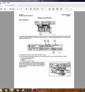 Cummins Isc Isl Cm2150 4021569 Service Manual Vol 1
