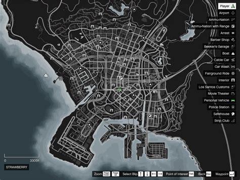 Realistic Menu Map