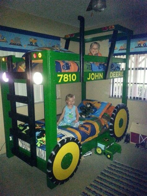 Deere Bunk Beds by Tractor Bunk Bed Tractor Bunk Bed Plans Found