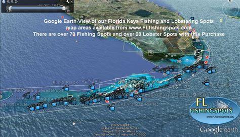 keys florida fishing map maps offshore google spots gps earth georgia grouper areas