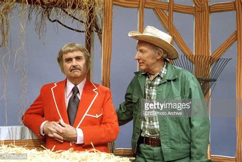 Bob Keeshan As Captain Kangaroo With Mr. Green Jeans