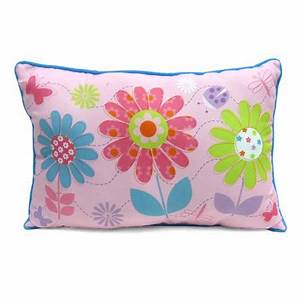 mainstays kids39 decorative pillow daisy floral walmartcom With childrens novelty pillows