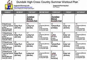 Cross Country Running Workout Schedule   EOUA Blog