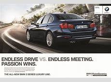 2012 BMW 3Series F30 Marketing Campaign Passion Wins