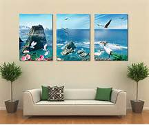 Living Room Canvas Art by 3 Panel Canvas Art Home Decoration Wall Art Beach Canvas Art Living Room Pain