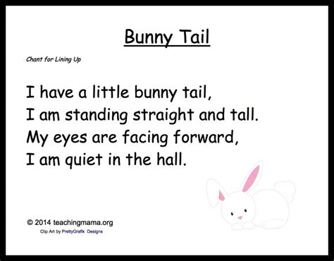 5 bunny chants for preschoolers 762 | bunnytail 1024x800