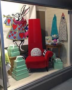 Alice, In, Wonderland, Window, Display