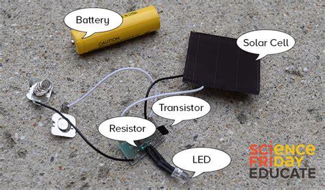 Wiring Garden Light by Hack A Solar Circuit