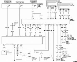 2004 Chrysler Crossfire Radio Wiring Diagram