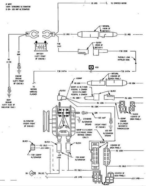 1984 Mustang Charging System Diagram by Wiring Diagram Or Pin Out Dodge Ram Ramcharger Cummins