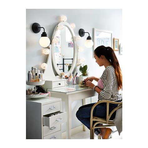 ikea dressing table mirror hemnes dressing table with mirror white 100x50 cm ikea