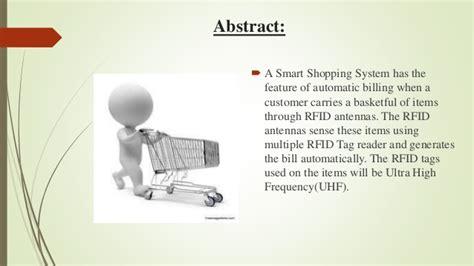 smart shopping system  rfid