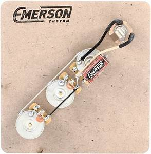 Emerson Custom Prewired Kit For Fender Jazz Bass