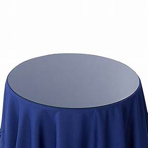 20-Inch Round Glass Table Topper - Bed Bath & Beyond