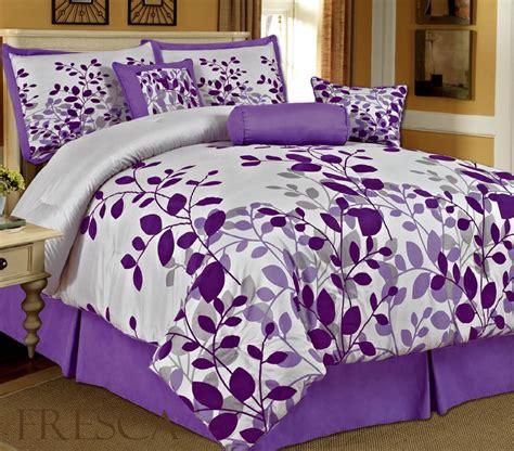purple size comforter bedding sets purple homefurniture org