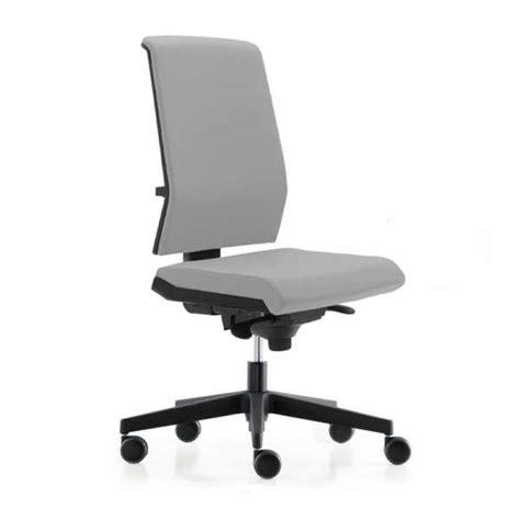 4 pieds 4 chaises chaise de bureau avec dossier tapissé sur roulettes tela