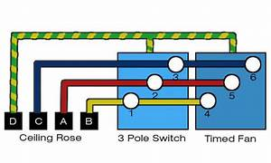 Bathroom Extractor Fan Wiring Diagram
